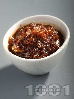Сос Терияки с лук за риба и бяло месо - снимка на рецептата